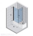 Шторка на ванну Riho NAUTIC N 110 90x80