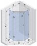 Душевая кабина RIHO SCANDIC S301-90/90